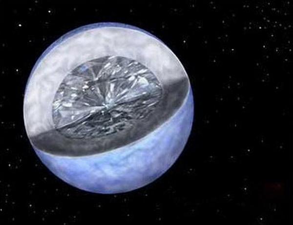 """实拍宇宙五大""""奇特""""星球:钻石星球上全是钻石(1)"""