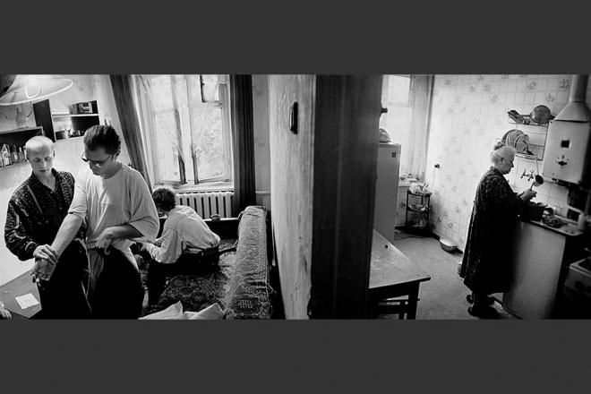 老照片:苏联解体俄罗斯色情毒品泛滥艾滋病蔓延(5)