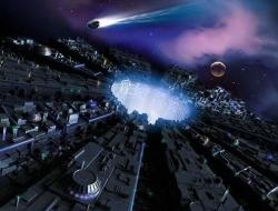 未来城市将环绕黑洞修建,能源取之不竭还可长生不老